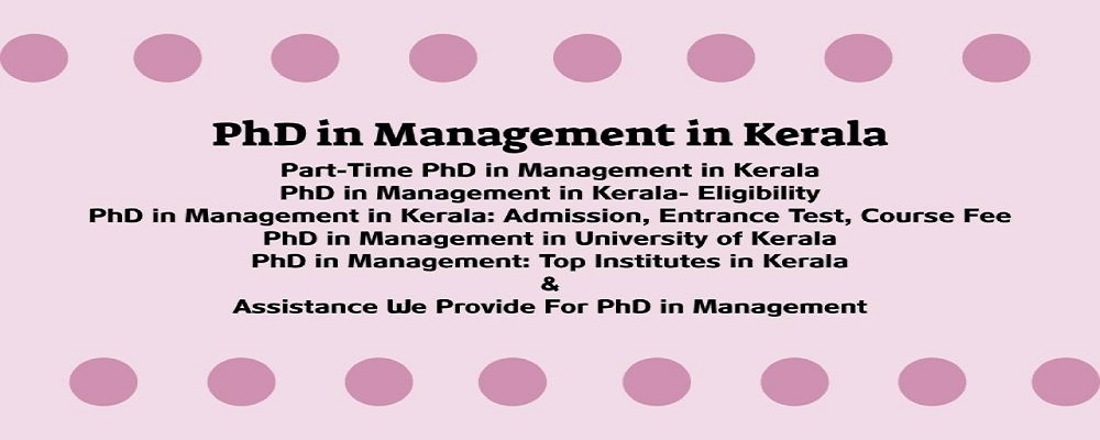 PhD-in-Management-in-Kerala