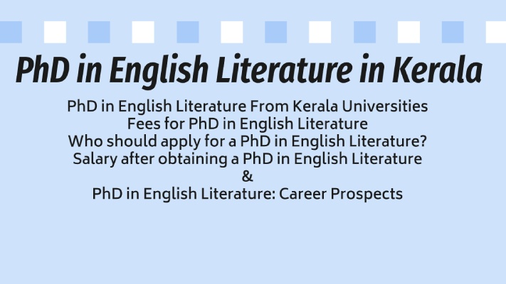 PhD-in-English-Literature-in-Kerala